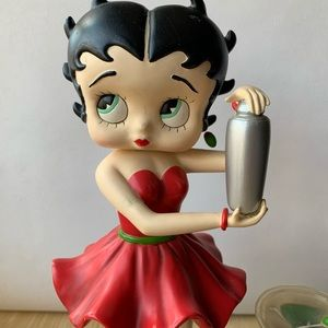 "Betty Boop Other - Betty Boop Statue Figurine- ""Martini Betty"""